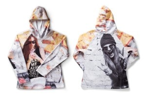 hooded sweatshirts met sublimatie