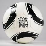 bedrukte voetballen met uw logo