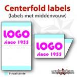 labels met middenvouw