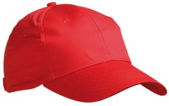 Klassiek model promo cap van 100% katoen.