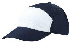 7-paneels cap met breed voorpanel