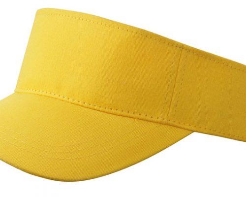 zonneklep geel