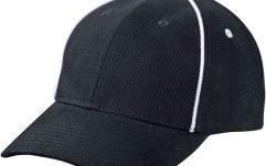piping cap zwart-wit