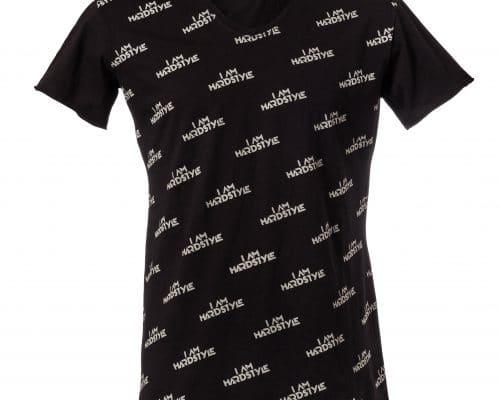 all over bedrukt t-shirt I Am Hardstyle