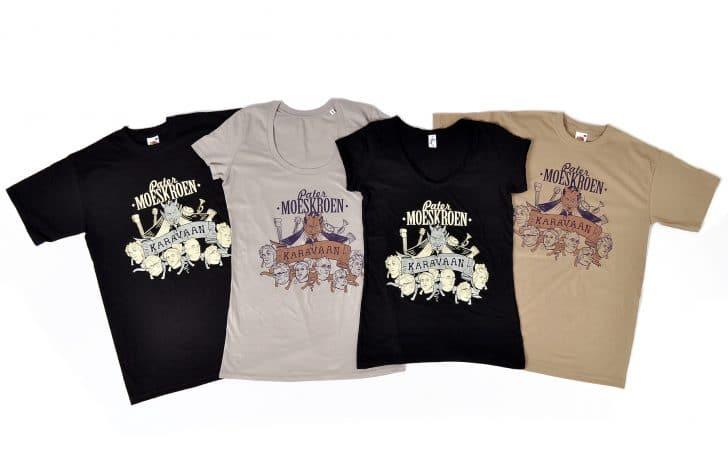 zeefdruk op t-shirts