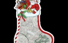 Kerstsok small gevuld met Kerstkransen
