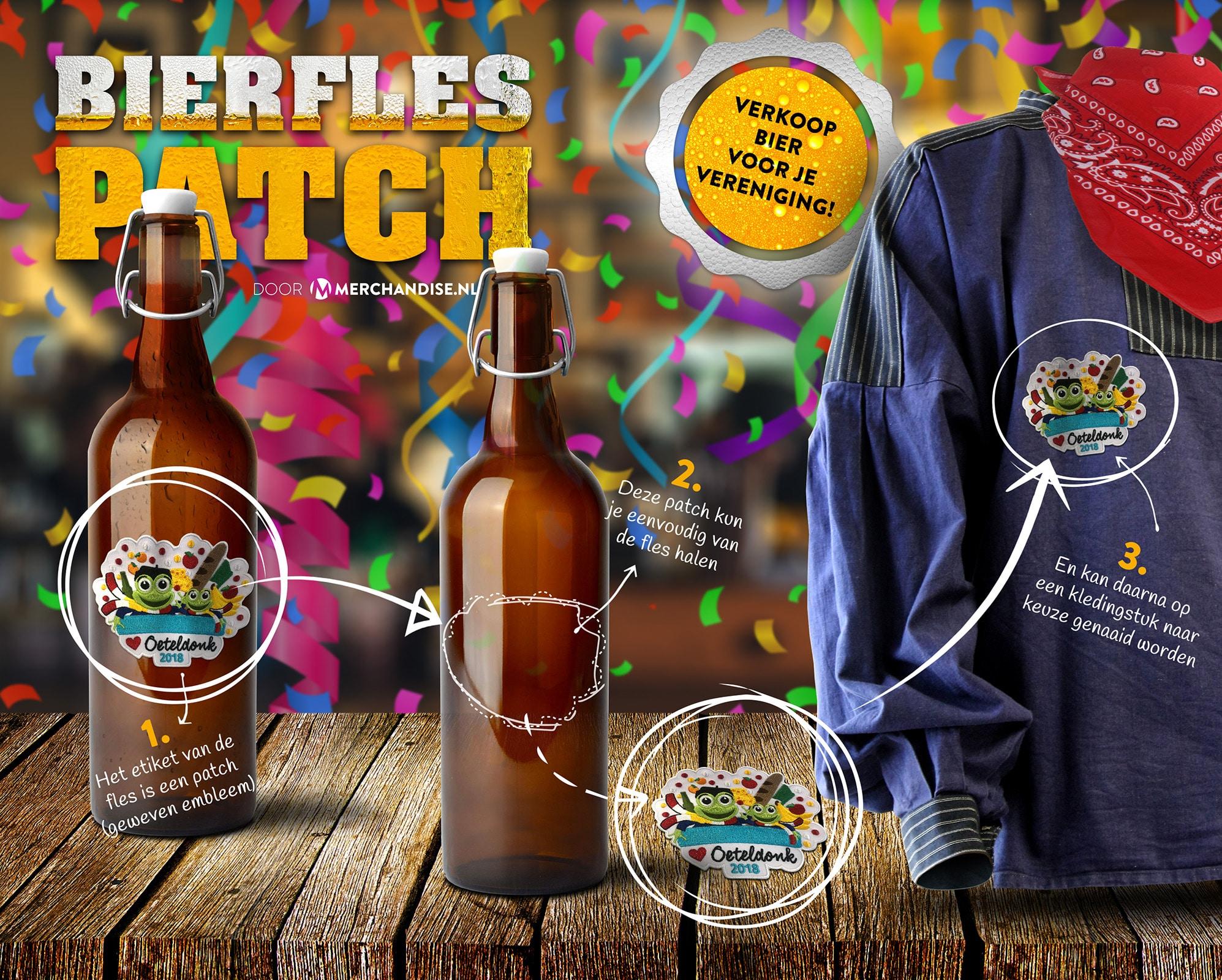 De bierfles-patch